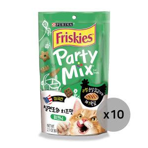 프리스키 파티믹스 피크닉 고양이간식 60g x10개