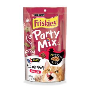 프리스키 파티믹스 믹스그릴 고양이간식 60g x1개