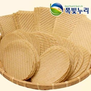 튀김조미포 500g 원형/사각 -약50장 튀김쥐포