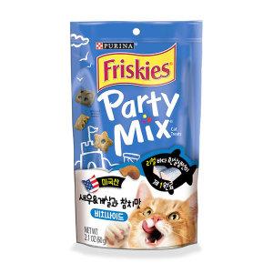 프리스키 파티믹스 비치사이드 고양이간식 60g x1개