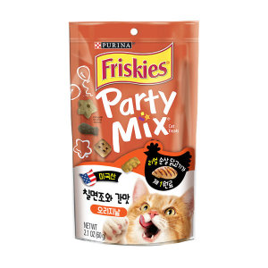 프리스키 파티믹스 오리지날 고양이간식 60g x1개
