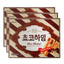 초코하임 284g(18개입)X3개 과자 간식 쿠키