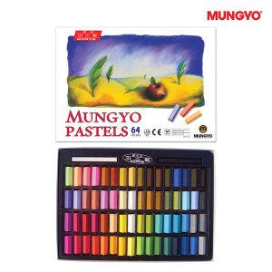 문교 사각 파스텔 64색/미술 색칠 화방용품 문구