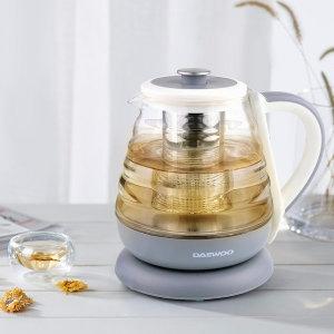 대우 유리포트 0.8L(티포트) 전기주전자 커피 무선 차