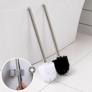 스테인레스 변기솔 리필 욕실 바닥 청소솔 바닥솔