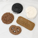 쿠키 수제 몰드-납작프레즐1구 (석고방향제 캔들 재료)