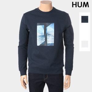 남성 프린팅 맨투맨 티셔츠 FHNSCTR114