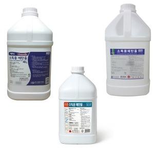 알콜4리터 소독용에탄올 4L 알콜 83프로 소독 MSDS