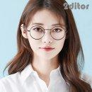 (2ditor) 투디터 남 여 공용 패션 펠리시떼 동글이 베타 티타늄 안경테