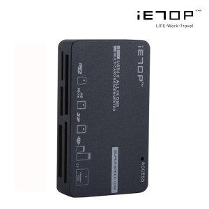C3-08 USB3.0 카드리더기 멀티 SD micro 네비 그레이