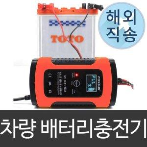 12V 자동차 스마트 Foxsur  배터리 충전기 펄스수리