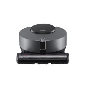 M  LG전자 코드제로 로봇청소기 R9 R958DA 다크실버 (3D듀얼아이/홈가드)
