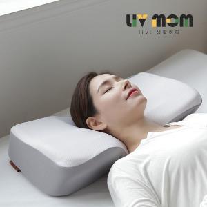 리브맘 프리미엄 3D 경추 메모리폼 베개 2개set
