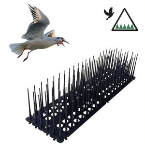 롱침 버드스파이크 블랙 2p 비둘기퇴치 실외기보호