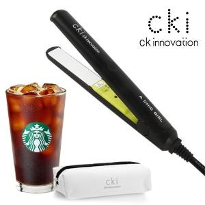 CKI-0700 블랙 미니고데기 매직기 휴대용 전용파우치