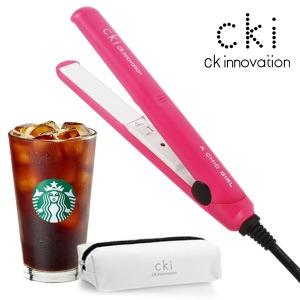 CKI-0700 핑크 미니고데기 매직기 휴대용 전용파우치