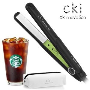 CKI-0704 블랙 미니고데기 매직기 휴대용 파우치