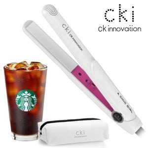 CKI-0704 화이트 미니고데기 매직기 휴대용 파우치