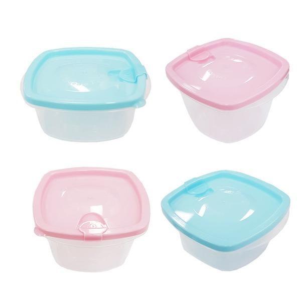 전자렌지용기 350ml 500ml/밀폐용기/냉동밥/반찬통