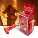 화재대피함세트-3 (구조손수건 10매+비상망치)