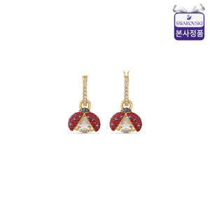 (본사정품) Sparkling DC Ladybug 후프 귀걸이 5537490