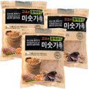 20곡블랙푸드미숫가루 3봉 x1kg 검은콩 검은깨 함유