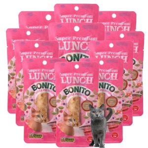 런치보니또 가쯔오부시 30개 고양이간식