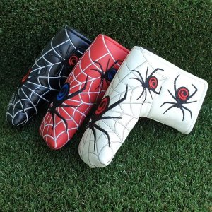 스파이더 거미 퍼터커버 일자형 블레이드 골프커버