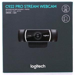 로지텍코리아 C922 PRO STREAM WEBCAM (정품)