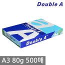 더블에이 A3 복사용지(A3용지) 80g 500매 1권