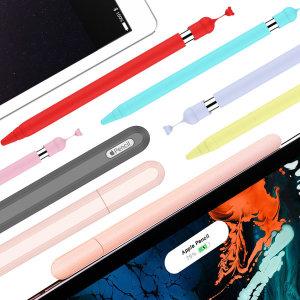 애플펜슬 1세대 2세대 실리콘 케이스 홀더 마그네틱