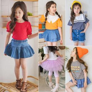 여아 의류/티셔츠/반바지/치마 레깅스/아동 유아 옷