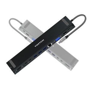 바이링크 썬더볼트3 노트북 12 in 1 멀티 허브 - 실버