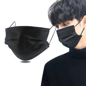일회용 마스크 50매 블랙 입체 3D 검정 덴탈마스크