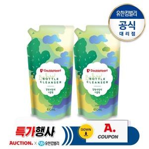 유아 젖병세정제 거품형 650ml (리필/2개)
