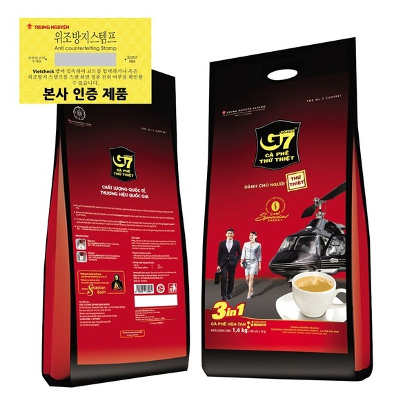 베트남커피 G7커피 3in1 믹스 100개입 내수용 1600g