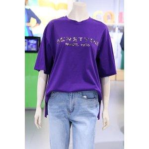 (여주점)레오파드 로고 티셔츠 (BATSB6031)