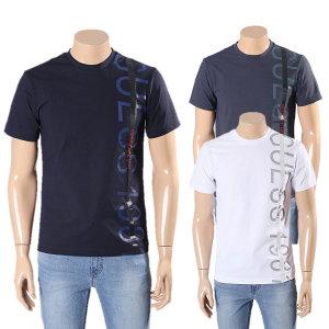 남성 쿨링 세로 로고 반팔 티셔츠 MK2K1404