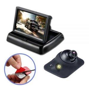 4.3인치 정면 후방 측면 자동차카메라 모니터 풀세트