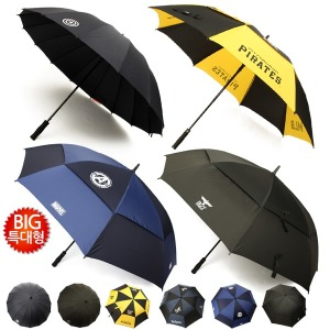 초대형 방풍 골프 의전용 빅사이즈 자동 장우산 모음