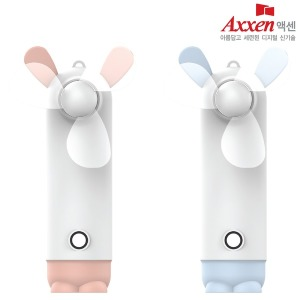 F40 휴대용 미니 선풍기 / 보조배터리 / 블루