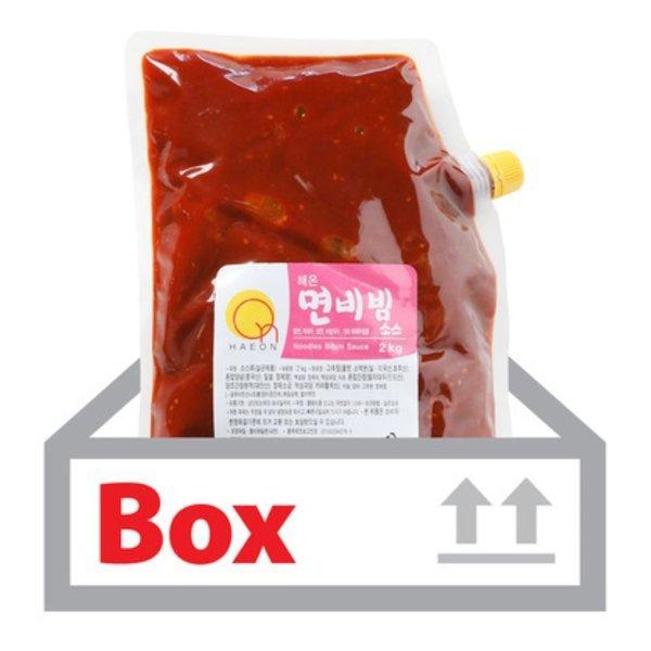 해온면비빔소스 2kg 6ea(박스)/조흥-식당용 업소용