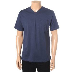 공용 오가닉 브이넥 티셔츠(10220-231-402-05)