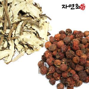 국산 당귀+산사 세트차600g(당귀300g+산사열매300g)