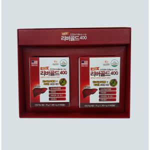 리버골드400 120캡슐 4개월분 밀크시슬 간장제 간영양
