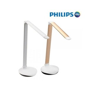 필립스 PHILIPS LED스탠드 72016 레버 에센셜 USB타입 실버