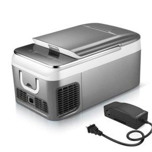 KEMIN 케민 차량용 냉장고 26L 그레이 가정용전원 포함