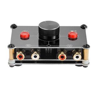 1:2  2:1 미니 스테레오 RCA 오디오 선택기 프리앰프