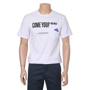 남여공용 포켓 반팔 티셔츠 FIBTS252U