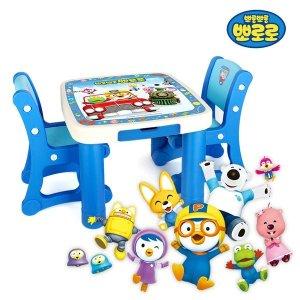 뽀로로 기차 책상의자 /유아책상 아이책상 아이책상의자 캐릭터책상의자 뽀로로책상의자